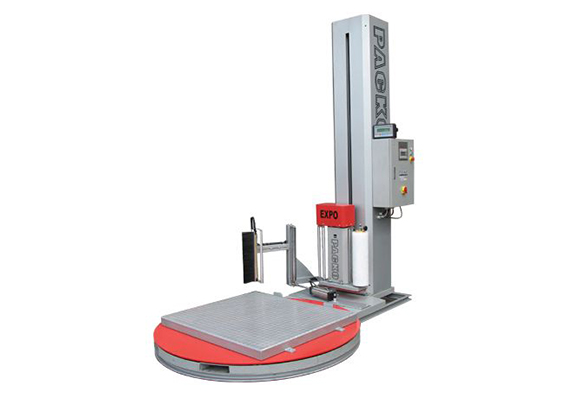 מכונת עטיפה אוטומטית מסוג במה מסתובבת