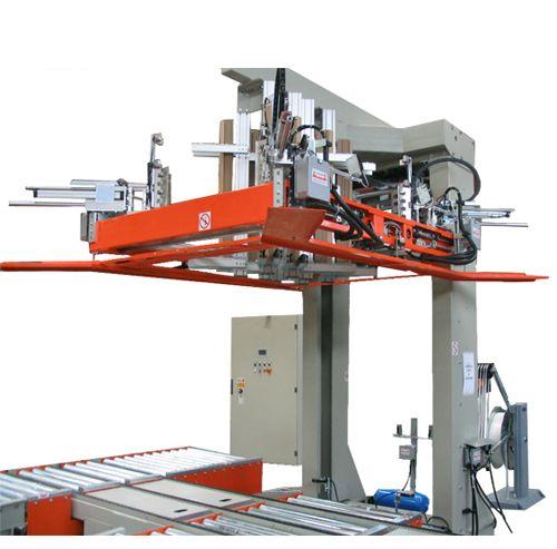 מכונת קשירה אופקית למשטחים עם הנחת פינות
