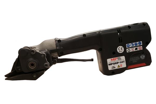 מכשיר מתיחה חשמלי נטען לסרטי פלדה ברוחב שונה